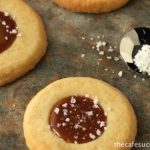Shortbread Cookies with Salted Caramel - delicious, delightful and decadent!