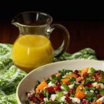 Roasted Butternut Salad with Barley and Candied Bacon