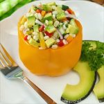 Stuffed Bell Peppers with California Avocados and Barley