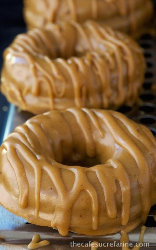 Baked Buttermilk Pumpkin Donuts - so easy and so delicious - a great taste of the season. These are baked, not fried!