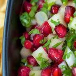 Pear and Pomegranate Salsa