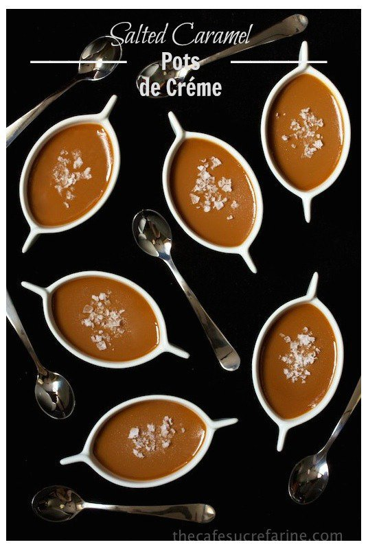 Salted Caramel Pots de Créme
