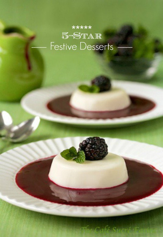 5-Star Festive Desserts - fun, delicious desserts for your next special occasion.