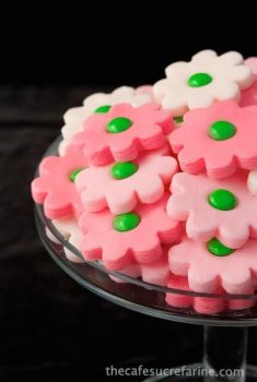 These Ombré Butter Mints are fun and easy - they are loved by young and old alike and brighten up a party table!