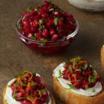This bright, fresh healthy appetizer makes a delightful bruschetta but there are tons of other delicious ways to use it - check it out!