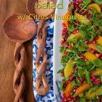 Orange, Pomegranate and Roasted Beet Salad