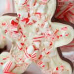Peppermint Bark Candy Cutouts