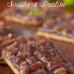 Southern Praline Bars