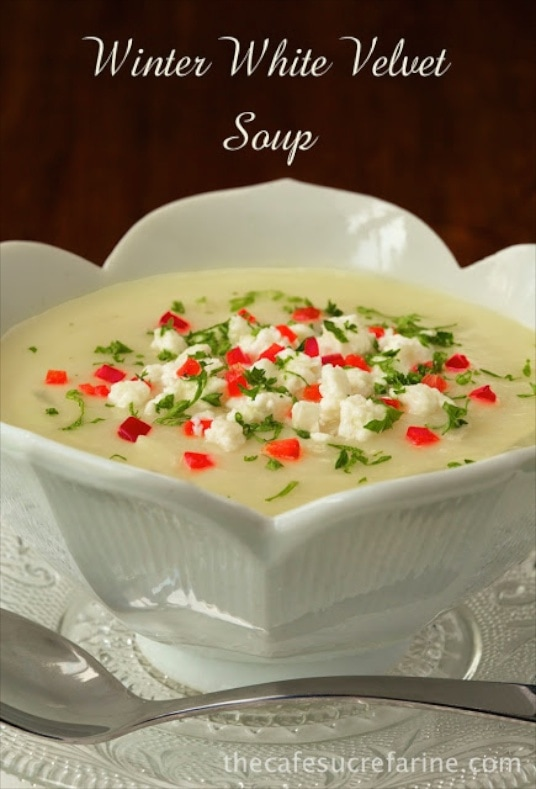 Winter White Velvet Soup - There are a ton of healthy veggies in this ...
