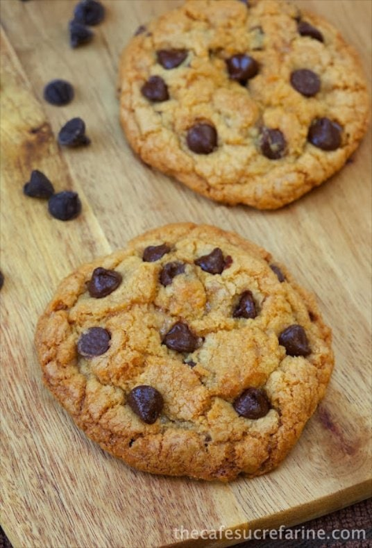 5-Star Chocolate Chip Toffee Cookies - fabulous and definitely worthy of the 5-Star moniker!