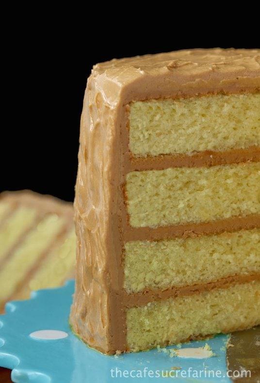 Brown Butter Caramel Cake