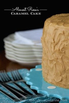 """Best Caramel Cake Recipe - Moist, tender, fabulous cake with a """"to die for"""" icing!"""