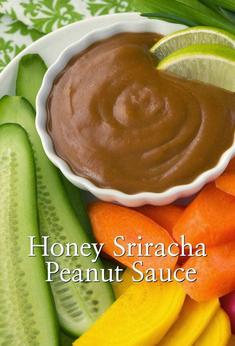 Honey Sriracha Peanut Sauce