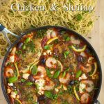 Mediterranean Chicken & Shrimp w/ Lemon & Feta