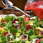 Citrus, Strawberry and Avocado Salad