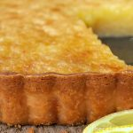 Lemon Chess Tart with Shortbread Crust