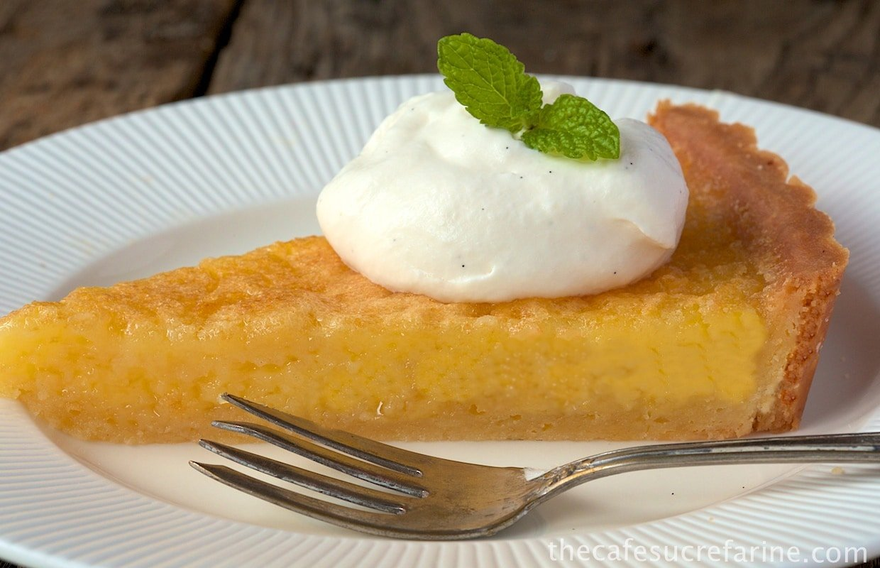 Lemon Chess Pie w- Shortbread Crust (2)