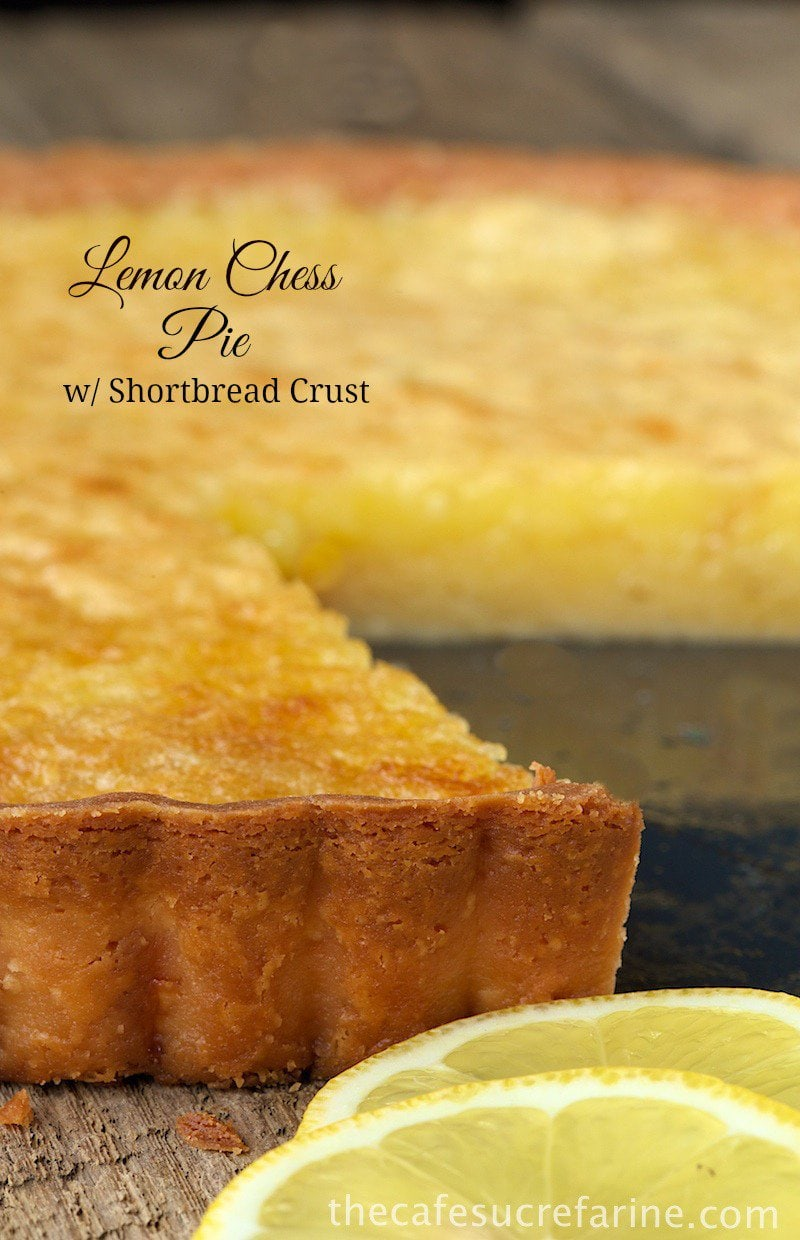 ... with a little twist. This is one crazy-good take on Lemon Chess Pie
