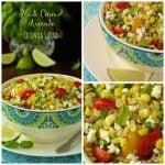 Fresh Corn and Avocado Quinoa Salad