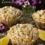 Bakery Style Blueberry-Lemon Muffins