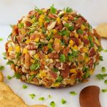 Southwestern Bacon Jalapeño Cheeseball
