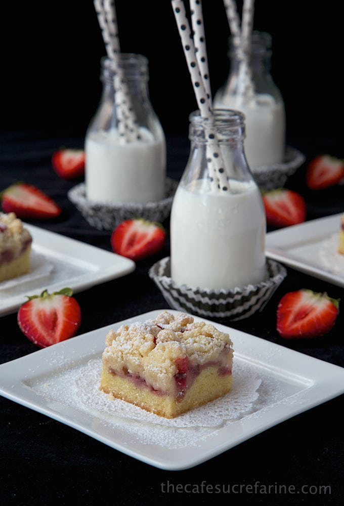 Strawberry Crumb Bars (7)