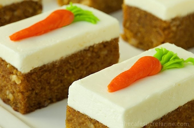 Carrot Cake Made With Baby Food And Pineapple