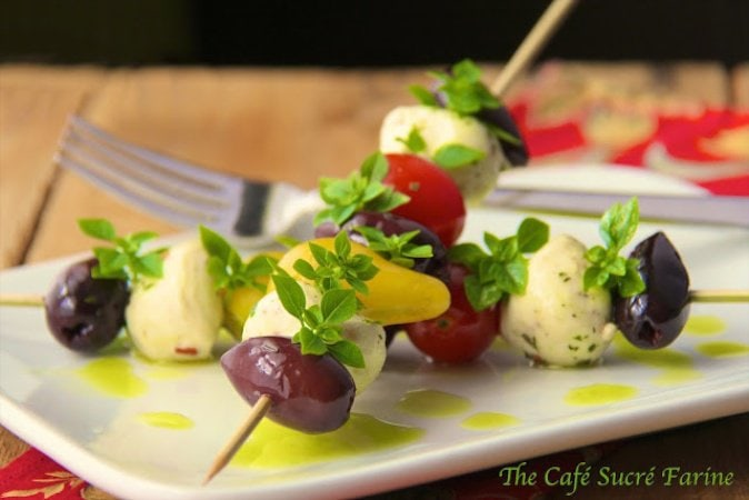 Tomato Tuscan Salad. Serves as a salad or appetizer. It just seems to scream - SUMMER!