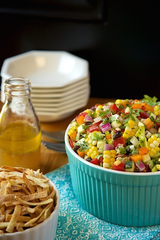 mexican-chopped-salad-3 Healthy Veg Salad Recipes For A Refreshing Summer!