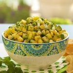 Pineapple, Avocado and Fresh Corn Salsa