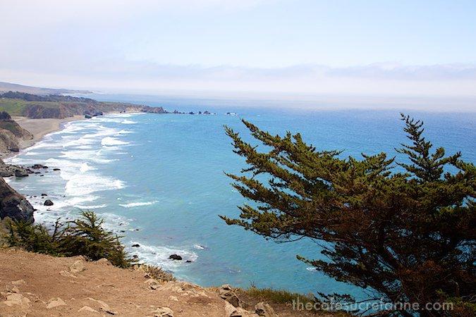 California Coast Road Trip - Part 2 - Big Sur - Coastline long view