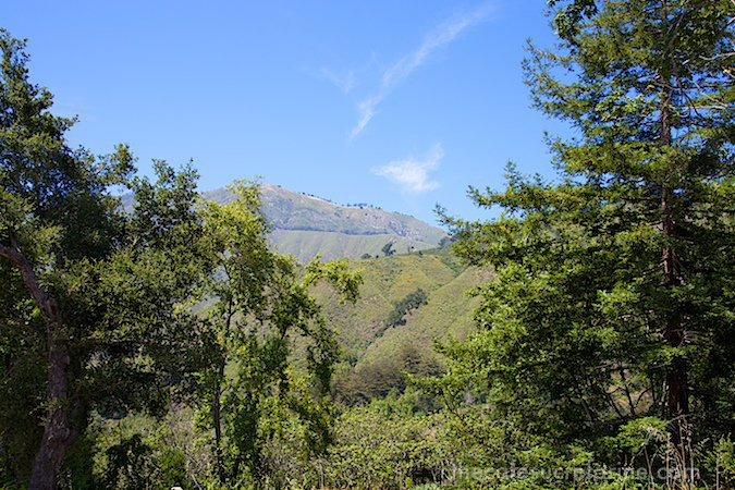 California Coast Road Trip - Part 2 - Big Sur - Mountain view
