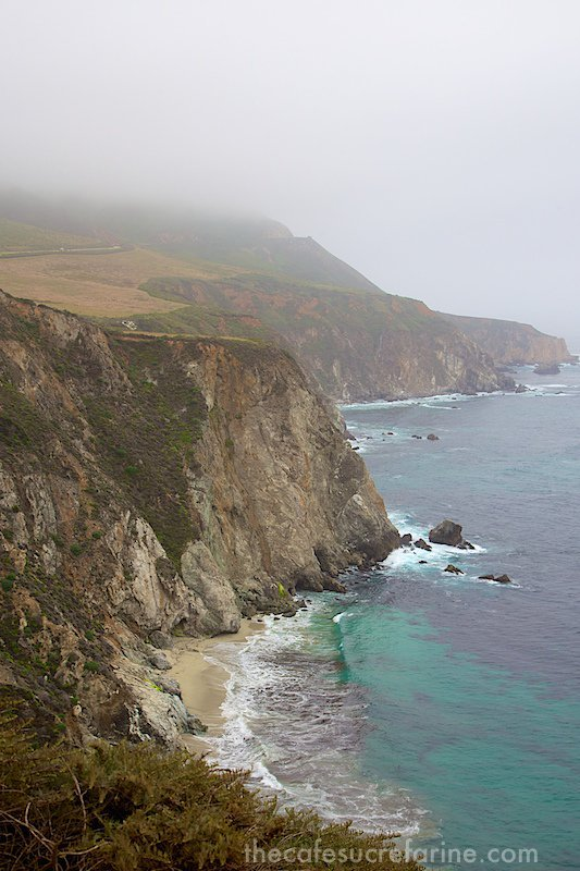 California Coast Road Trip - Part 2 - Big Sur area coastline