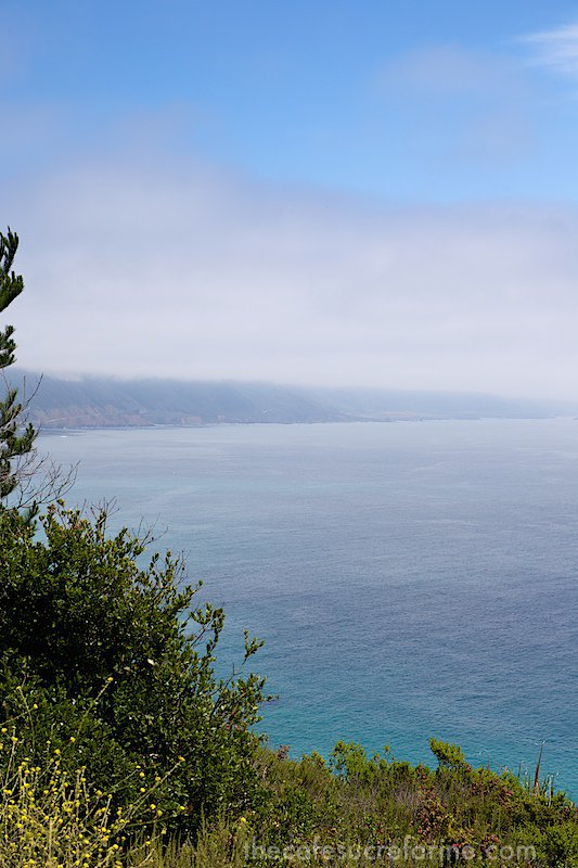 California Coast Road Trip - Part 2 - Big Sur coastline