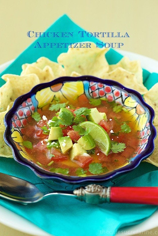 Chicken Tortilla Soup. Super delicious, super easy!