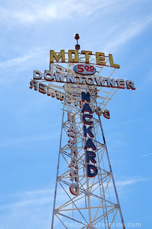 Flagstaff Route 66 sign