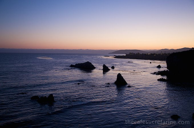 California Coast Road Trip - Part 2 - Ventana Grille Sunset