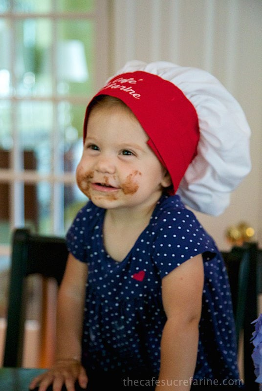 Chocolate Sugar Cookies. Cooking with Emery.