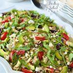 Greek-Style Avocado and Barley Salad