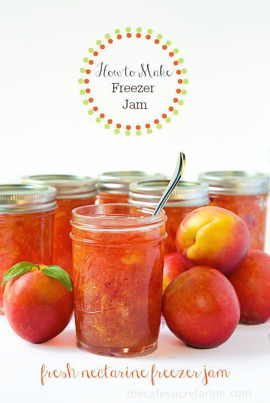 How to Make Freezer Jam. Such an easy technique with spectacular, fresh, delicious results!