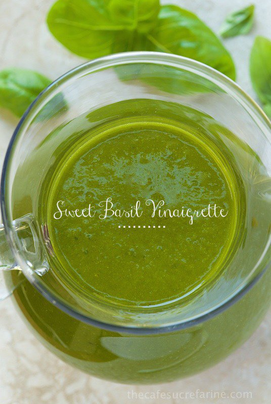 Sweet Basil Vinaigrette | The Café Sucre Farine