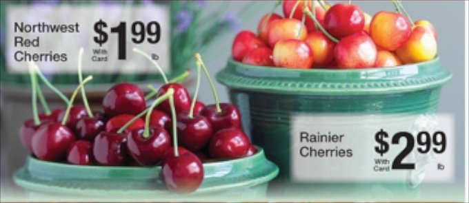 Sweet Cherries for sale