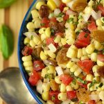 Warm Corn and Tomato Relish