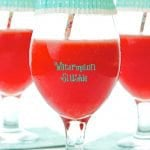Watermelon Slushie - only three ingredients. The most refreshing drink you'll have all summer.