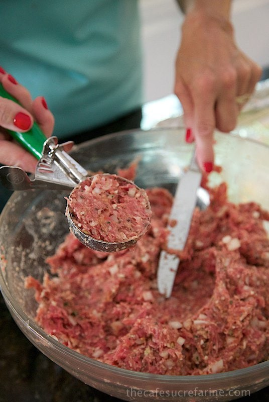 Making meatballs, a few tricks.