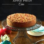 Sticky Apple Pecan Cake -
