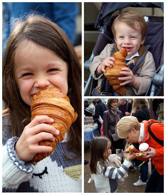 Why we love London - croissants!