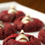 Red Velvet Kiss Cookies - the most romantic, most beautiful and most delicious cookies you'll ever have the pleasure of meeting!