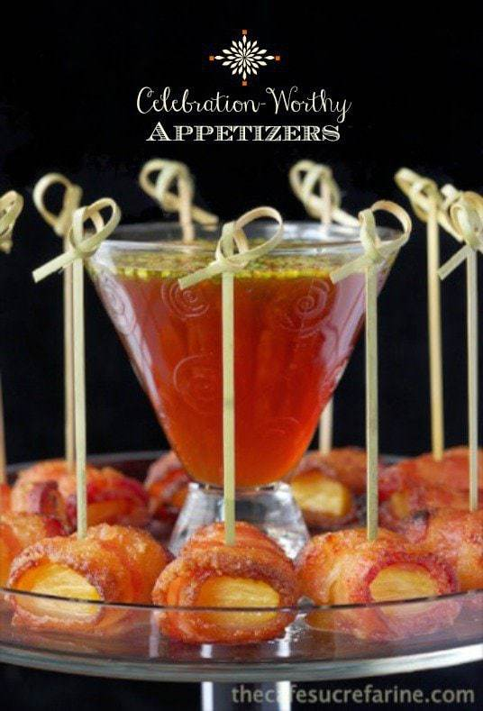 Celebration Worth Appetizers - a delicious collection of crowd-pleasing appetizers for dinner parties, cocktail parties and all the special events on your calendar!