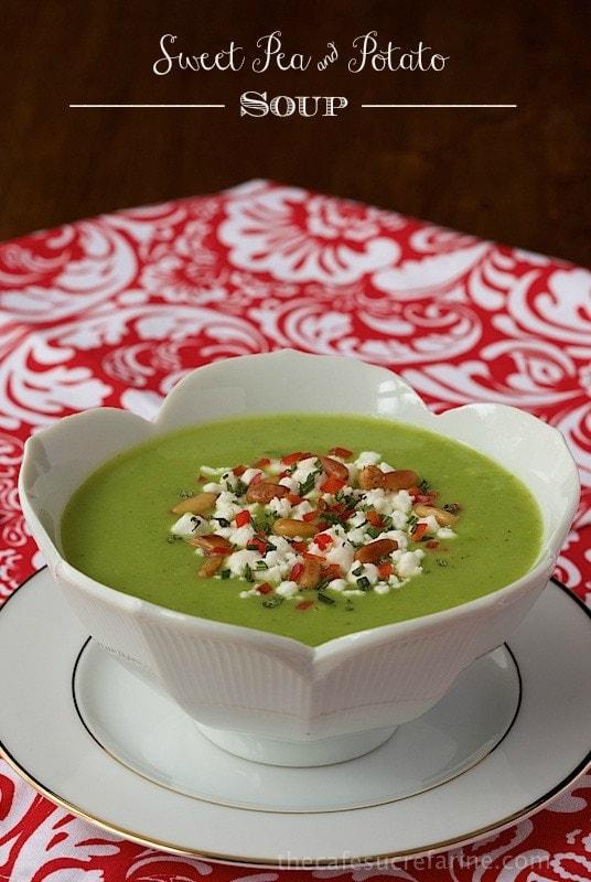 Sweet Pea and Potato Soup